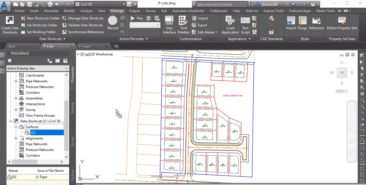 Workflow: Updating Civil 3D Surfaces Created from LandXML Files